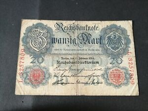 Germany 20 Mark 1914