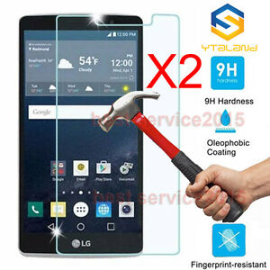 2Pcs 9H Premium Tempered Glass Film Screen Protector For LG G STYLO LS770