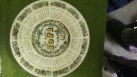 """Wedgewood ~ 1971 """"Cherubs"""" Calendar Plate ~ Unboxed"""