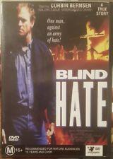 BLIND HATE RARE DELETED OOP DVD CORBIN BERNSEN TRUE STORY KLU KLUX KLAN KKK FILM