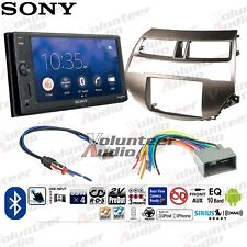 "Sony XAV-V10BT 6.2"" Double Din Car Stereo Radio Dash Install Kit NO CD"