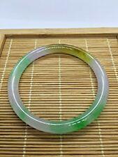 Genuine Green Vintage Burma Jade Bangle bracelet (JPB262)