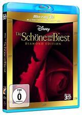 La bella y la Bestia (Diamond Edition) [3d & 2d Blu-ray/nuevo/en el embalaje original] Walt Disney