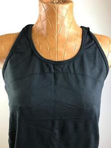 GAP FIT Motion Round Neck Racerback Black Activewear Tank Top Women's Size M
