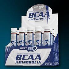 Best Body BCAA (49,20 €/Liter) Aminobolin 20 Ampullen Aminosäuren