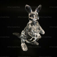 RARE Retired Swarovski Crystal Kangaroo and Baby Joey 181756 Mint Boxed