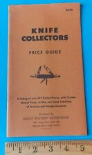KNIFE COLLECTORS PRICE GUIDE GREAT WESTERN ENTERPRISES! STIDHAM ESTATE