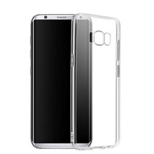 ES 100% Ultra Thin TPU Soft Clear Case Cover For Samsung Galaxy S8+ S8 Plus