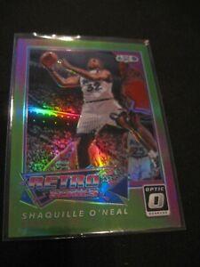 SHAQUILLE O'NEAL 2017-18 Donruss Optic Retro Series Lime Green #20 Magic 143/175