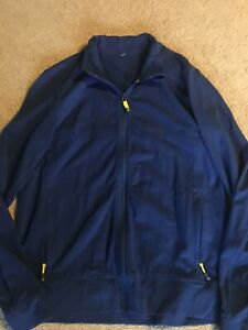 Lululemon Mens Lightweight Jacket Dark Blue Large