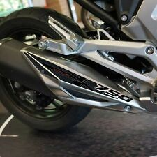 Adesivo 3D Protezione Marmitta compatibile con Honda NC 750X 2021
