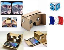 Lunettes realite virtuelle 3D en carton pour lg samsung sony panasonic toshiba