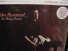 JOHN HAMMOND SO MANY ROADS 180 Gram Limited Edition Analog AUDIOPHILE VINYL LP