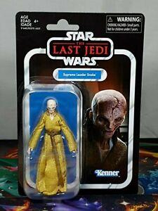Star Wars Last Jedi VC Supreme Leader Snoke Figure Kenner/Hasbro 2017 Aus