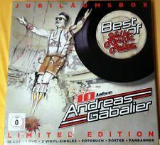 Andreas Gabalier Jubiläumsbox 10 Jahre Best Of Volks-Rock'n'Roller Box 18 CD DVD