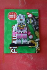 Lego Mini Figure Collectible Series 11 No. 16 Lady Clock Work Robot  Minifigure