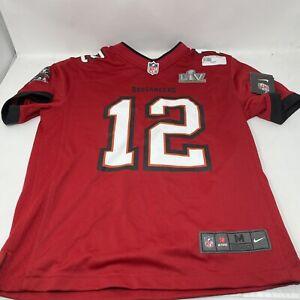 Tampa Bay Buccaneers Tom Brady Super Bowl Champion Jersey Youth (14/16) medium