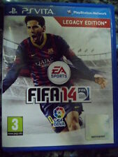 FIFA 14 Legacy Edition PS Vita fútbol football soocer en castellano In english