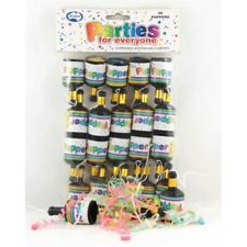 POPPERS- 20 PK BIRTHDAY PARTY SUPPLIES