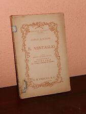 IL VENTAGLIO.LIBRO-COMMEDIA-CARLO GOLDONI-BIBLIOTECA DEI  CLASSICI ITALIANI