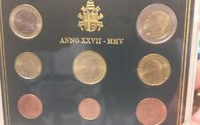 Cartera Vaticano 8 valores 2005