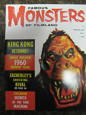 Famous Monsters # 6 REPRINT  King Kong cover