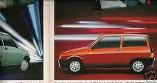 Dépliant  AUTOBIANCHI Y 10 Turbo - Touring - fire / LX