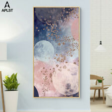 Milky Way Universe Galaxy Planet Canvas Poster Prints Painting Wall Art Decals