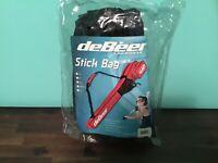 """deBeer Lacrosse Stick Bag FLUSB Navy Blue Black 42"""" Sealed"""