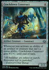 Crackdown construct foil | nm/m | Aether revolt | Magic mtg