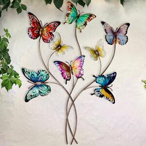 Wand Objekt Behang Schmetterling Außen Bild Terrassen Garten Dekoration Balkon