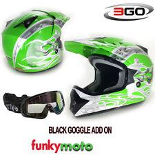 Cascos Enduro/Motocross color principal verde para conductores