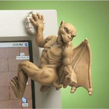 Gothic Climbing Gargoyle Computer Sitter Home Statue Medieval