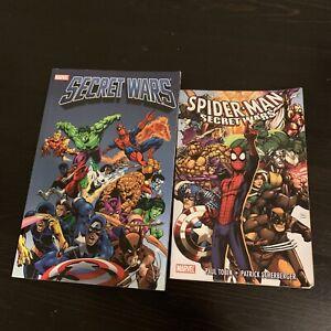 SECRET WARS TPB Marvel Super Heroes Comics #1-12 Jim Shooter + Spider-Man SW TPB