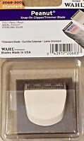 WAHL PROFESSIONAL PEANUT CLIPPER/TRIMMER BLADE WHITE #2068-300 MODEL # 785068