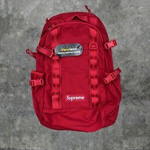 Supreme FW20 Dark Red Box Backpack