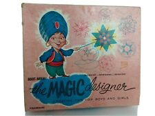Vintage Hoot-Nanny Magic Designer Working Spirograph Kit, w/Instructions