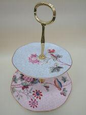 Wedgwood Cuckoo Tea Story 2 Tier Cake Stand England Bone china