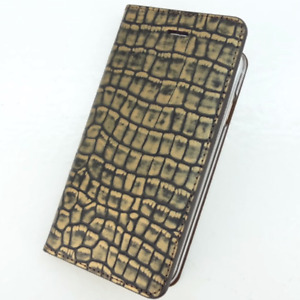 iPhone X / XS 7 Plus VRS Design [Croco Diary] Apple Card Slot Wallet Case Cover