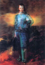 Blue Boy by Thomas Gainsborough - 3D Lenticular Postcard Greeting Cerd