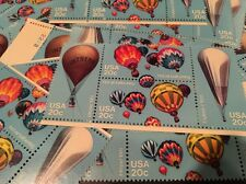 10  Vintage Balloon stamps  For Holiday, Wedding And Dressing Up Your Mail
