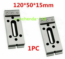 New Wire Edm Fixture Board Stainless Jig Steel Tool For Clamp Level 120x50x15mm