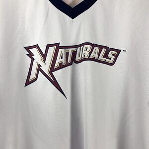 Northwest Arkansas Naturals White Jersey XL Champions #10 Tyson