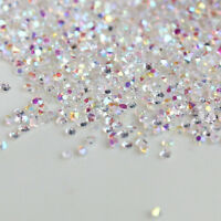 1000Pcs Crystal Pixie 3D Nail art Micro Zircon 1.2mm Mini Rhinestones DIY US