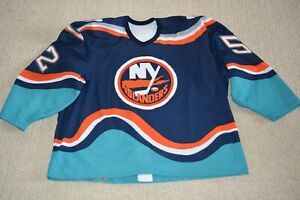 1998 GAME WORN New York Islanders Jersey MARK LAWRENCE Size 58 RARE COLLECTABLE