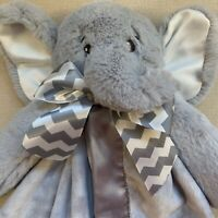 CLEARANCE! Bearington Baby Collection Gray Elephant Baby Lovey Security Blanket