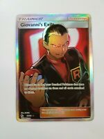 GIovanni's Exile - 67/68 Hidden Fates (Pokemon) Full Art Ultra Rare