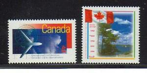 1994-95 SC# 1528, 1546 International Civil Aviation Canadian Flag Lot 255 M-NH