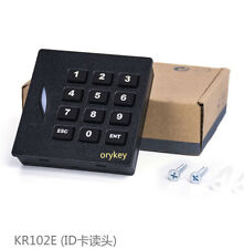 4pcs RFID card access control 125KHZ ID card reader with keypad IP65 waterproof