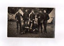 CPA Carte postale ancienne militaria (groupe militaire à définir)